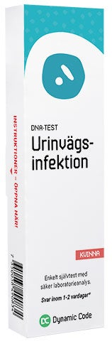 testa urinvägsinfektion hemma